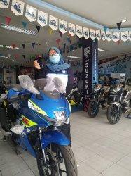 Punya Rp4,8 Juta Bisa Bawa Suzuki GSX-R150,Masih Harga Lama Rp32,6 Jutaan di PT Riau Jaya Cemerlang