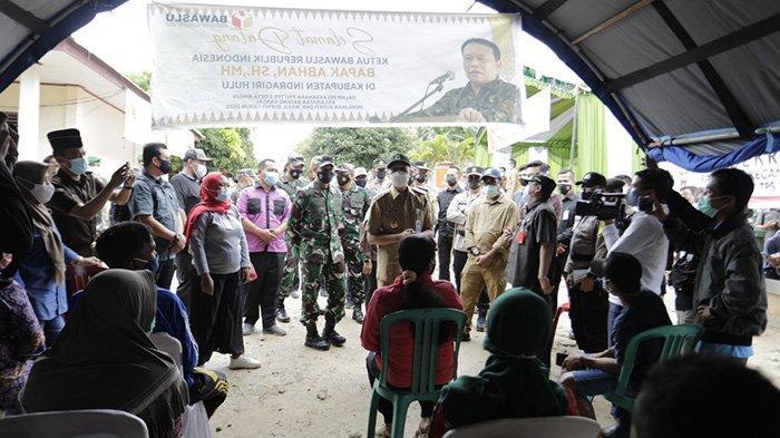 Pemilih Taat Prokes, Gubri Acungi Jempol Pemungutan Suara Ulang di Desa Ringin Inhu