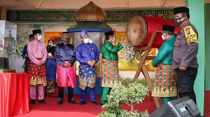 Diikuti 623 Qari dan Qariah, MTQ Kabupaten Siak Dibuka Bupati Alfedri di Tengah Pandemi Covid-19