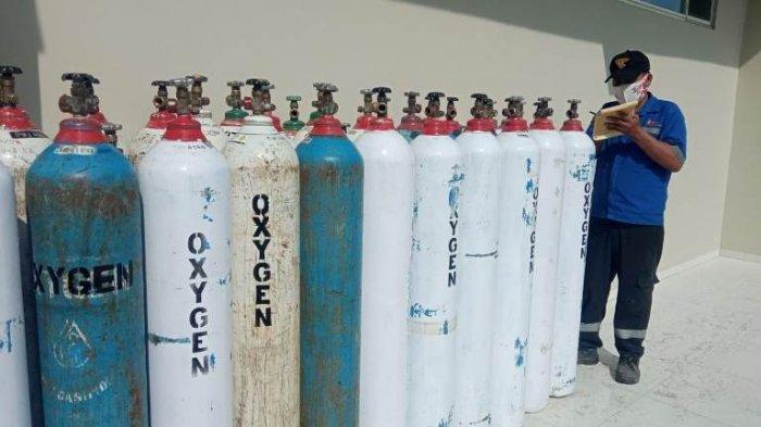 Kabar Buruk,Stok Tabung Oksigen Sejumlah Apotek Pekanbaru Mulai Kosong, Harga Juga Naik,Jadi Langka?