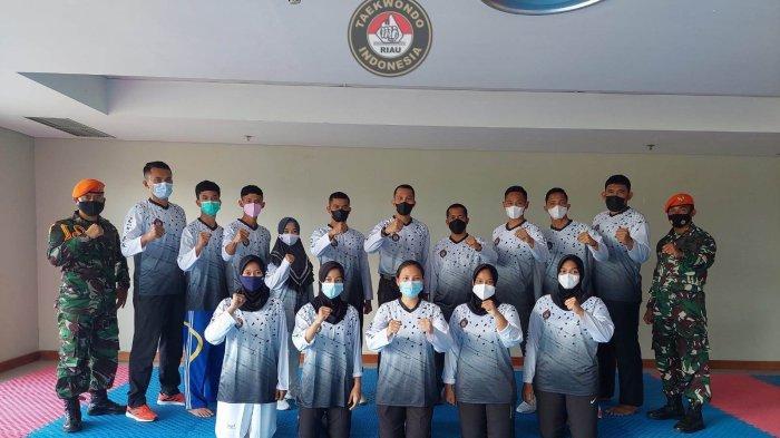 Taekwondo Riau Bawa 10 Atlet di PON Papua dan Akan Berusaha Raih Medali Emas