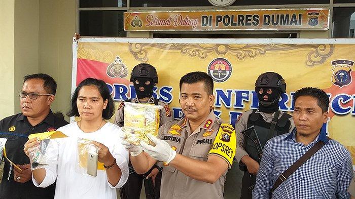 Tak Jelas Pembayaran Upah Angkut ke Pekanbaru, F Akhirnya Nekat Jualan Sabu di Dumai