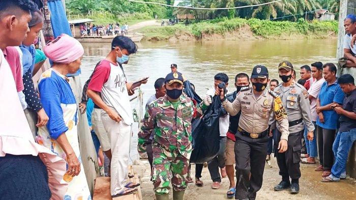 Tak Pandai Berenang, Bocah Lelaki di Rohul Hanyut di Sungai, Ditemukan Tewas 2 Hari Kemudian