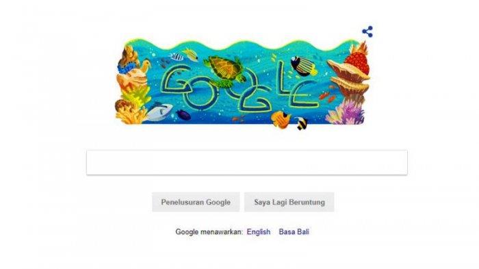 Taman Nasional Bunaken Jadi Google Doodle. Ini Dia Peran WWF untuk Pelestariannya