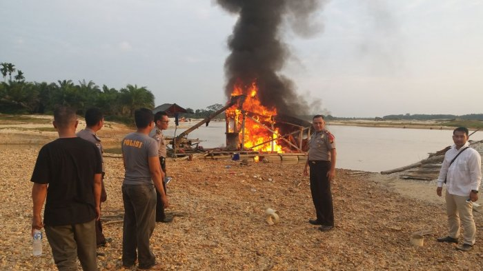 Seorang Pelaku Tambang Emas Ilegal di Kuansing Ditembak, Polisi : Berusaha Kabur