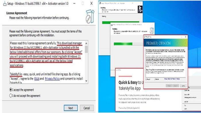 Baru Sehari Diluncurkan Sudah Ada yang Memalsukan Windows 11, Waspada karena Berisi Malware