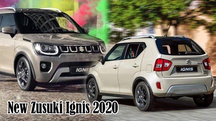 Tampilan New Suzuki Ignis 2020 Jauh Lebih Maskulin, Segera Ready Stock dan Mengaspal di Pekanbaru