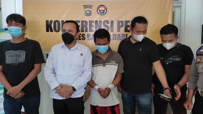 Tahanan Ini Bobol Plafon Penjara Polsek Gunung Kerinci Lalu Kabur, Ngaku Stres