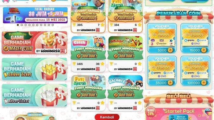 Rekomendasi Aplikasi Penghasil Uang, Cuma dengan Main Game Saja