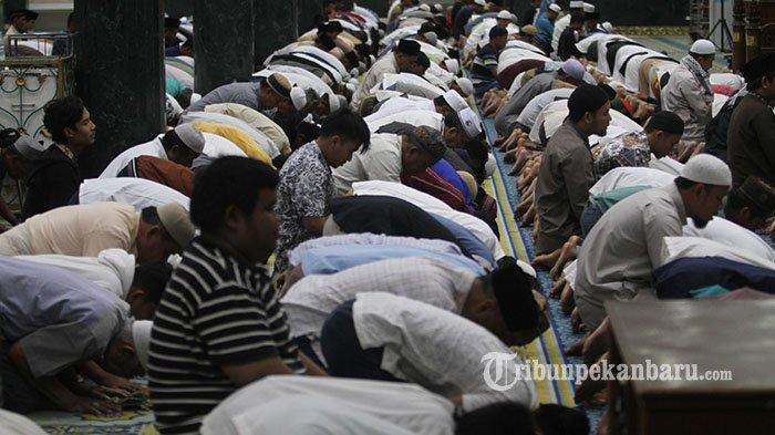 Warga Pekanbaru di Kelurahan Zona Merah Berharap Tetap Ibadah di Masjid Saat Malam Ramadhan