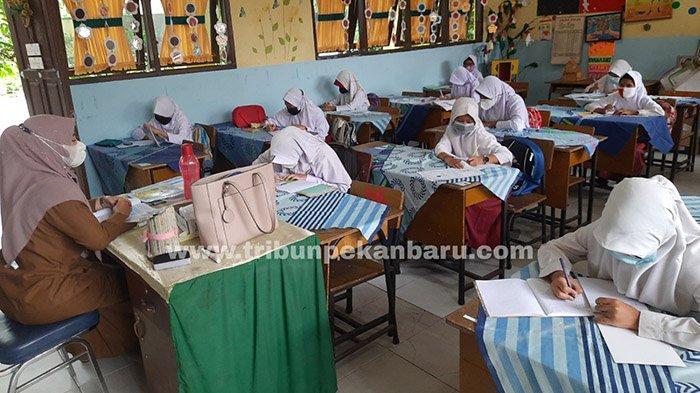 Covid-19 di Riau, Tiga Pekan PTM Terbatas di Pekanbaru Tidak Ada Peserta Didik Positif Covid-19