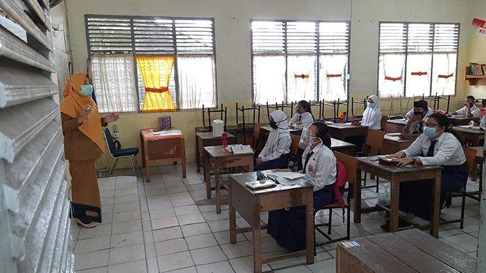 1 Jam Pelajaran Cuma 25 Menit, Belajar Tatap Muka di Pelalawan Mulai Senin Depan