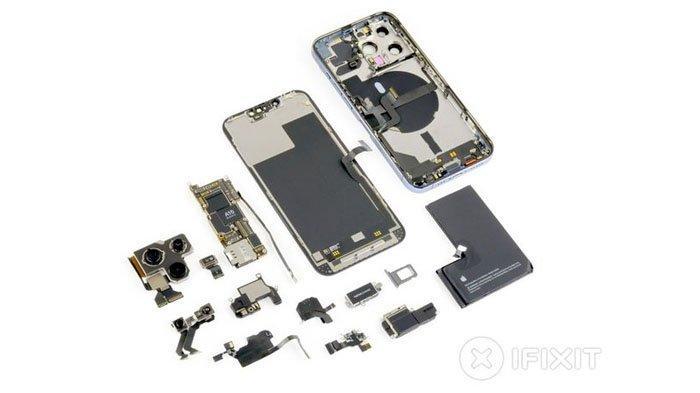 iPhone 13 Pro 256 GB Dibongkar, Harga Bahan & Komponen Terkuak Tapi Apple Jual Hampir 2 Kali Lipat