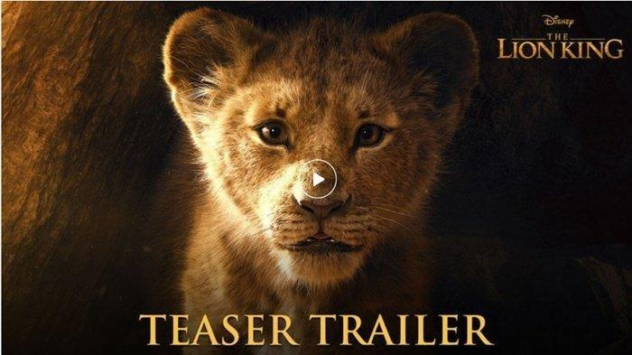 LINK TEASER FILM Lion King. Dahsyat Hampir 50 Juta Orang yang Nonton