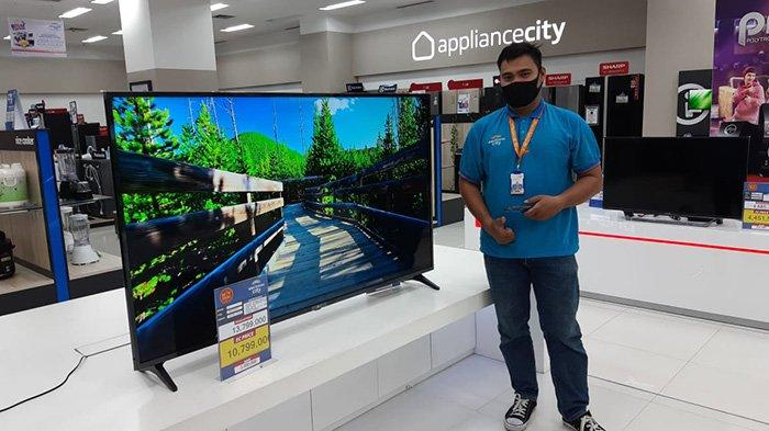 PROMO Tv LG di Electronic City Living World Pekanbaru,Bisa Youtube dan Browsing Seperti Komputer