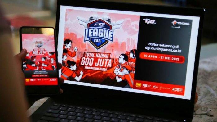 Telkomsel Gelar Dunia Games League 2021, Dorong Gamer Indonesia untuk Meningkatkan Kemampuan
