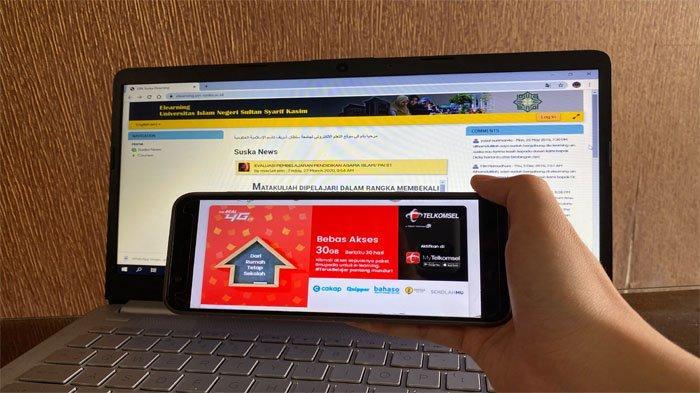Telkomsel Hadirkan Paket Bebas Akses Ilmupedia 30 GB untuk Mahasiswa UIN Sultan Syarif Kasim Riau
