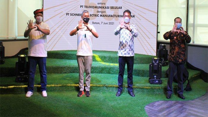 Kerjasama Telkomsel Bersama Schneider Electric, Dorong Pemanfaatan Teknologi 5G di Indonesia