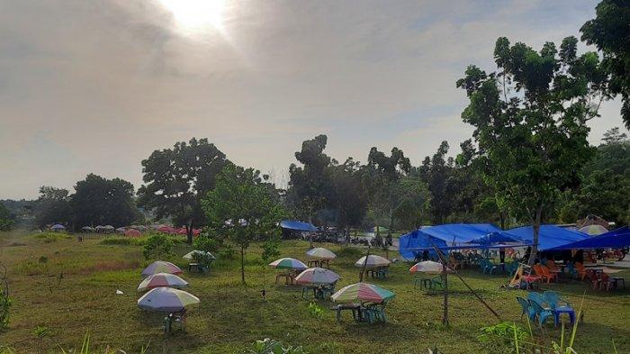 Tenda Ceper di Kawasan Stadion Utama Pekanbaru Diduga Jadi Tempat Berbuat Asusila