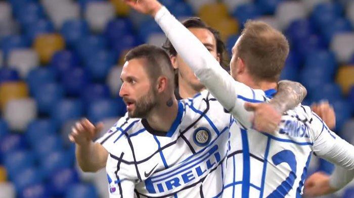 Tendangan Geledek Christian Eriksen Selamatkan Inter Milan, Rossoneri kian Dekati Poin Nerazzurri
