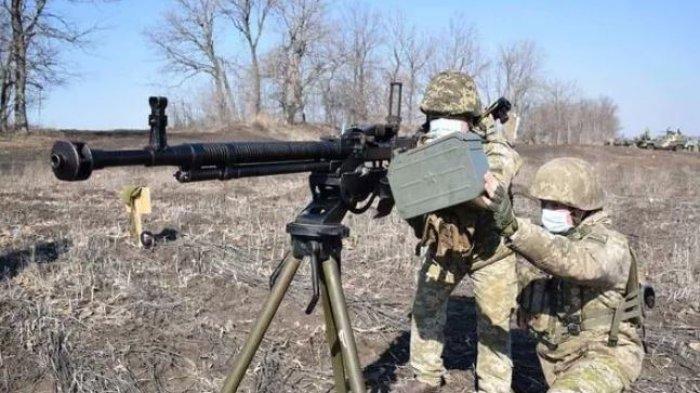 Perang Rusia-Ukraina Telah Dimulai, Menlu Sebut 30 Tentaranya Tewas Didor Sniper Beruang Merah