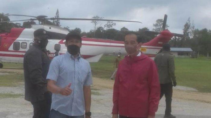 Teriak Jokowi I Love You, Seorang Guru di Bantan Bengkalis Dapat Bingkisan dan Foto Bersama Presiden