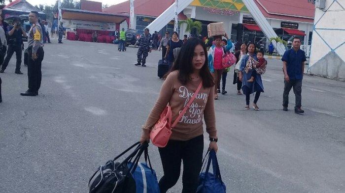 Hari Idul Fitri, Jumlah Pemudik di Terminal Penumpang Pelindo Dumai Menurun