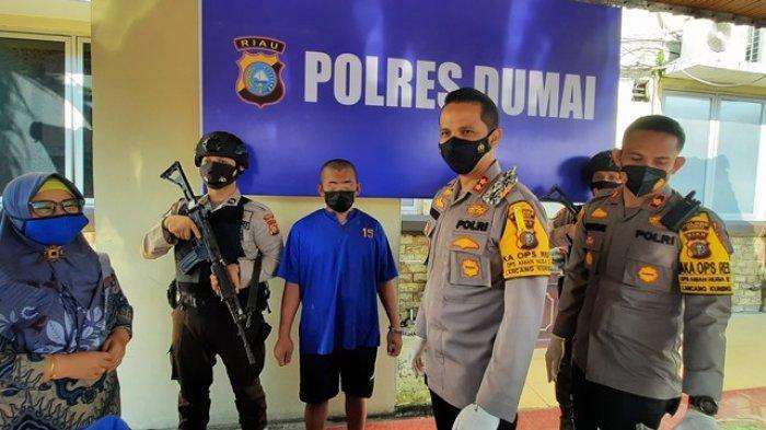 Ternyata Penyelundupan 23 Kg Sabu dan 19.937 Pil Ekstasi di Dumai Dikendalikan oleh Napi Kota Pinang