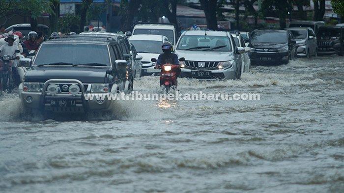 Anggaran Banjir Tahun 2021 Hanya Rp 13 M, DPRD Pekanbaru: Tahun Depan Harus Lebih Banyak