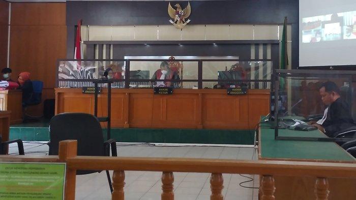 Terpidana Korupsi Dana Alat Paraga Disdikpora Kuansing Psrah, Terima Vonis Hakim