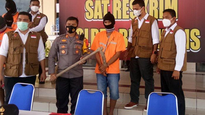 Alan Ditangkap Saat Sedang Memotong Pipa Milik PT CPI, Sudah 3 Kali Dijual ke Pengepul Besi Bekas