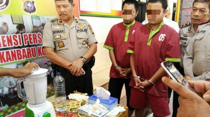 Sabu-Sabu Hasil Tangkapan Dari Dua Orang Tersangka Diduga Pengedar Dimusnahkan