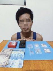 Geledah Rumah Pengedar Narkoba di Inhu Riau, Polisi Temukan 18 Paket Sabu dan 6 Butir Ekstasi