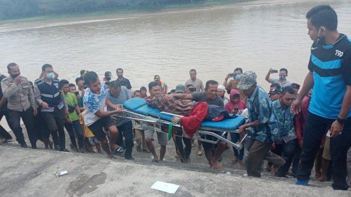 Tersangkut di Kayu, Jasad Bocah yang Tenggelam di Pantai Jai-jai Raok Kuansing Ditemukan