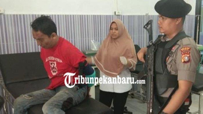 TERUNGKAP Identitas Pelaku Pengrusakan di Bank BNI 46 Dumai, Sempat Ancam Teller, Bukan Perampokan