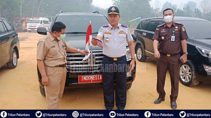 TERUNGKAP Pemilik Toyota Landcruiser yang Dinaiki Presiden RI Jokowi ke Lokasi Karhutla di Riau