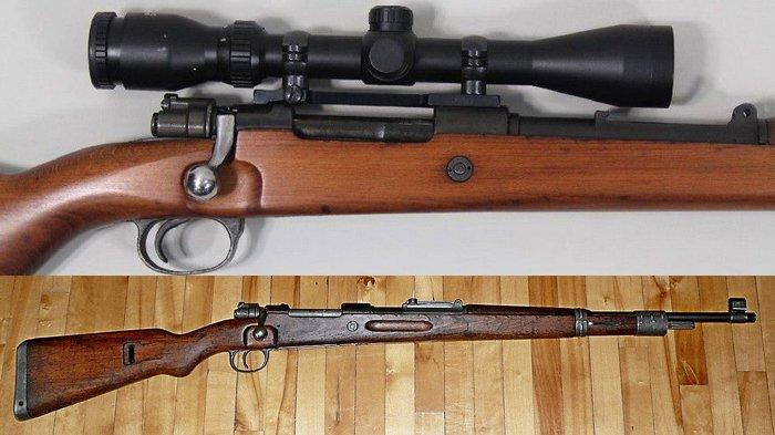 Terungkap, Teroris KKB Papua Ternyata Pakai Senjata Sniper Mauser 762, Ditinggal Saat Kabur dari TNI