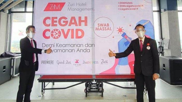 ZHM Gelontorkan Dana Ratusan Juta untuk Swab dan Rapid Tes Massal Karyawan di Pekanbaru