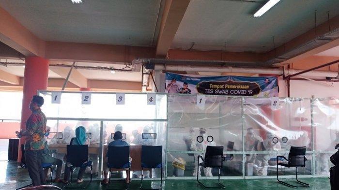 Tes Swab Seribuan Pedagang Pasar Raya Padang,168 Orang Terkonfirmasi Positif Covid-19