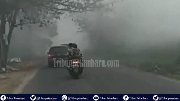 BMKG Pekanbaru Tegaskan Kabut Asap di Riau Saat Ini Kiriman Jambi dan Sumsel serta Lampung