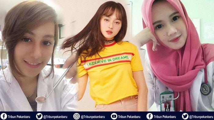 Tiga DOKTER CANTIK Indonesia, Banyak Netizen yang Minta Follback, Ada yang Bilang Mirip DYLAN SAHARA