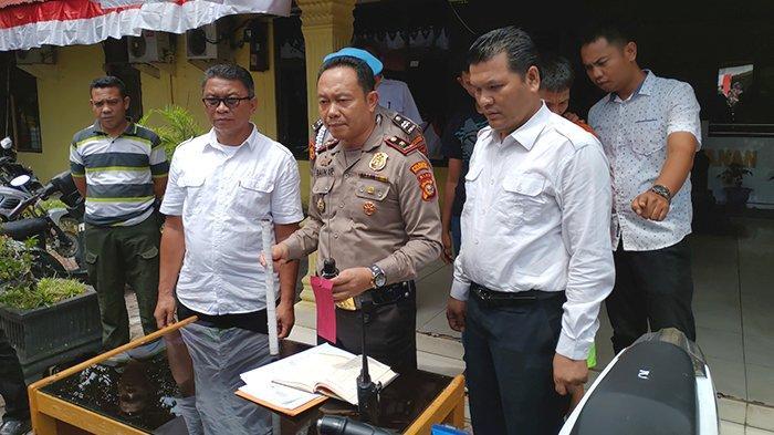 Tiga Bulan di Pekanbaru, Warga Lampung Nekat Jadi Begal Motor, Pakai Samurai Saat Beraksi