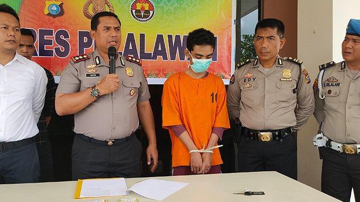 Tiga Pelaku Jambret Emas yang Berkeliaran di Pangkalan Kerinci Akhirnya Ditangkap Polres Pelalawan