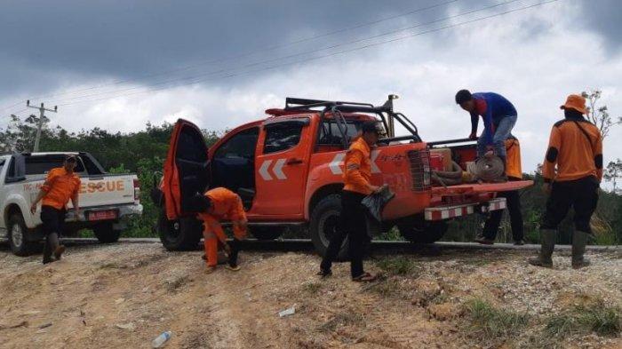 Karhutla di Pangkalan Terap Pelalawan Belum Padam, Tim Gabungan Dibagi Empat Titik Isolasi Api