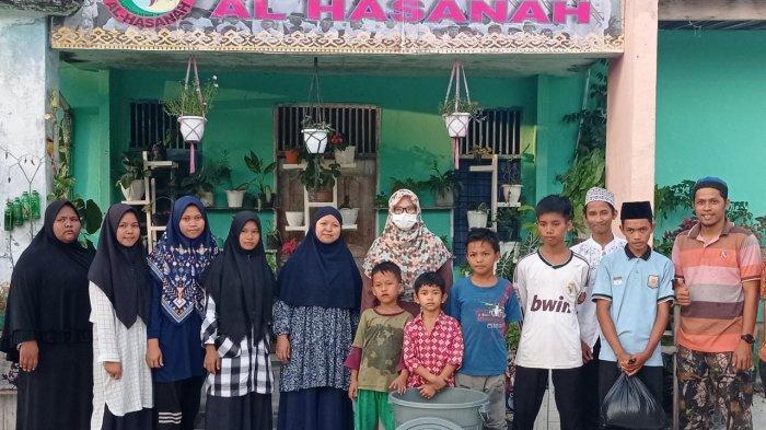 Bangun Ketahanan Pangan, Dosen Biologi FKIP UIR Edukasi Budidaya Ikan Lele di Panti Al Hasanah