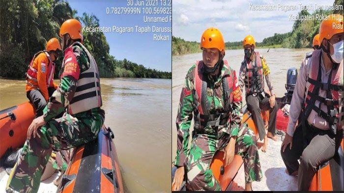 Jasad Bocah 9 Tahun yang Tenggelam di Sungai Rokan Belum Ditemukan, Pencarian Dilakukan Intensif