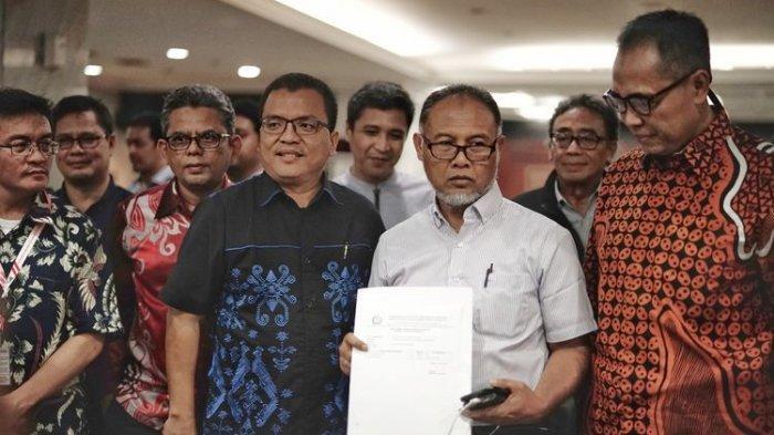 Tim Hukum Prabowo-Sandiaga Uno Sebut Cawapres Ma'ruf Amin Diduga Langgar UU Pemilu,
