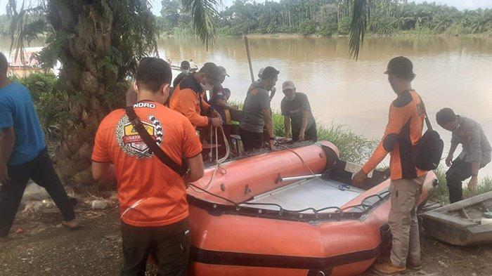 Jasad Ridho Ditemukan 50 Meter dari Lokasi Tenggelam, Seberangi Sungai Tak Sabar Loncat Padahal. . .