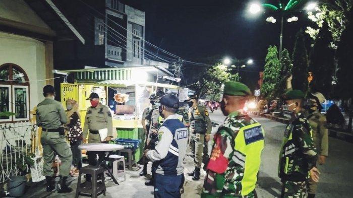 Patroli Saat Malam Natal,Satgas Covid 19 Siaga Pastikan Prokes Tetap Diterapkan Masyarakat