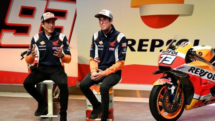 LIVE MotoGP Sirkuit Losail Qatar, Honda Coba Cari Pengganti Marc Marquez